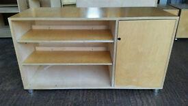 Solid Beech Veneer Office Sideboard /Storage #1