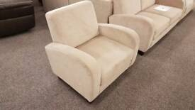 Julian Bowen Vivo Chair Mink Chenille Fabric