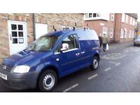 Vw caddy van 2.00tdi ready for work