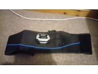 Electric muscle flex belt