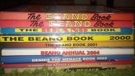 Beano & Dennis annuals