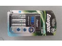 Energizer AA charger and battery