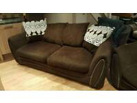 Dfs 3 and 2 seater brown suite. Great condition. Will deliver. £275 ono