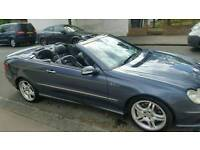 Mercedes clk55 amg convertible rare quad exhaust