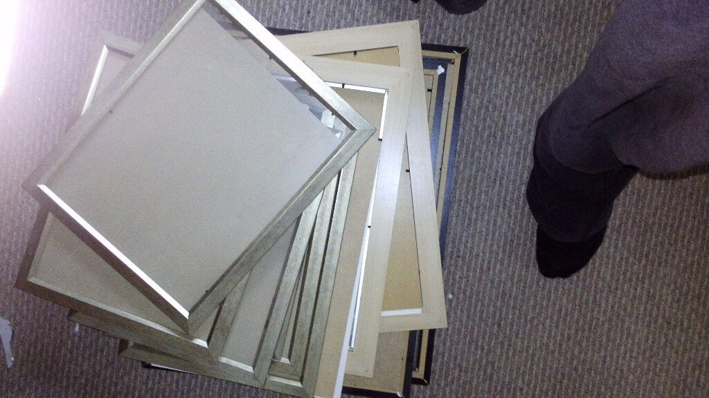 Job lot of picture frames