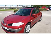 RENAULT MEGANE 1.5 DCI DYN 07,12 MONTHS MOT,2 OWNERS,6 SPEED,PAN SUNROOF,CLEAN COND.,£1395,HPI CLEAR