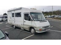 bargain 6 berth motorhome lhd px welcome