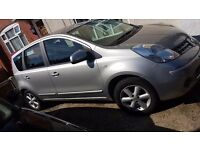 Nissan Note 1.3 petrol silver excellent car