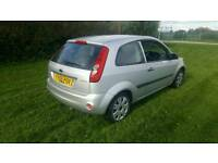 2006 ford fiesta 1.25 petrol manual VERY LOW MILES style climate zetec facelift model corsa