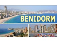 BENIDORM Penthouse 2 bedroom with large private terrace for holiday