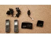 BT 6500 Twin Digital Cordless Phones & Binatone Corded Phone