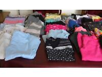 70 items of girls clothes. Age 7&8. From designer shop Debenhams, M&S, Next, H&M.Excellent condition