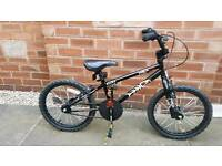 Boys Hood Alley BMX Style Bike 18''