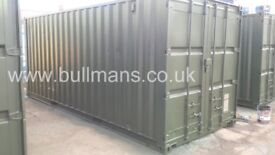 20ft - refurbished / repainted shipping containers, steel storage container for sale