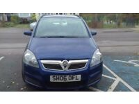 Family owned Vauxhall Zafira with history