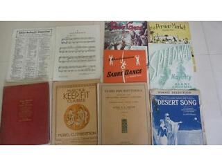Vintage piano music - sheets plus great book - circa 1930s onwards