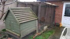 Chicken coop aviary