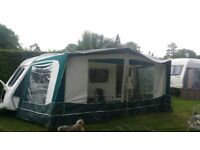 caravan awning 676cm size maybe for 2 birth caravan?
