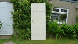3 x Good quality internal doors. Fitted brass hinges and furniture. Good condition