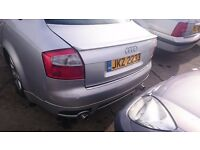 2002 AUDI A4 TDI SE, 1.9 DIESEL, BREAKING FOR PARTS ONLY, POSTAGE AVAILABLE NATIONWIDE