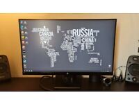 HP 27w 27 Inch Full HD IPS Slim Monitor