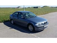 BMW 318 SE. 2000. X-REG. RUNNER REQS MOT. 160000 MILES. OFF ROAD.
