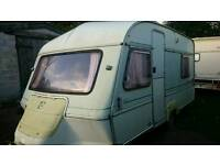 4 birth caravan & Awning Ace Globetrotter £525 ono