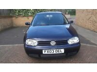Volkswagen golf for sale 1.6 petrol