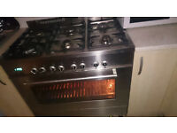 6 Range Burner Electric /Gas cooker