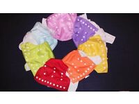 Washable cloth nappies