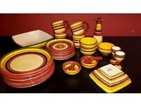 Jeff Banks Dinner Set Mexican theme