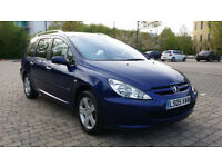 2005 Peugeot 307 SW 2.0 HDi SE 5dr, Full Black Leather Seats, Panoramic Roof & MOT