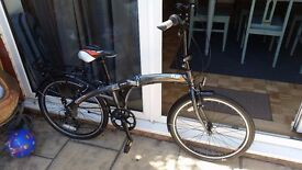 Brand new Indigo Flip 24 folding bike for sale - BRAND NEW AND UNUSED