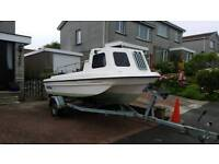 Seahog shortie boat with 60hp mercury