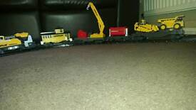 Toy construction train