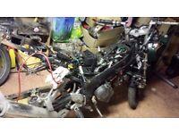 AJS CR3 125 motorbike