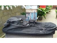 Golf clubs and bag protector for travelling / flying.