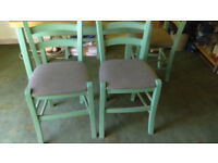 For Sale Dining Table & Four Chairs £50.00