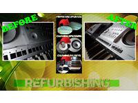 Yamaha keyboards: refurbishment, upgrades, repairs (PSR 740 1000 2000 3000 S700 S900 Tyros/2 etc)