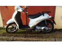 piaggio liberty 125 2015 one owner 3379 km