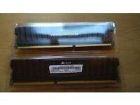 Vengeance Low Profile — 8GB Dual Channel DDR3 Memory Kit (CML8GX3M2A1600C9)