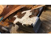 Bespoke epoxy lounge tables