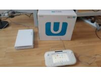 Nintendo Wii U Basic Pack with 2 games