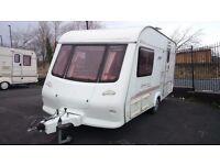 Elddis Advantage 2002, 2 berth caravan