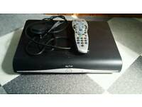 Sky+ HD box with remote control