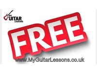 FREE GUITAR LESSONS FROM QUALIFIED TUTOR IN WEST LONDON