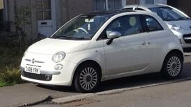 Fiat 500 for sale. Very good condition with panoramic roof.