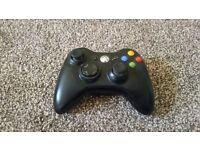 Black Wireless Xbox 360 Controller