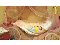 Disney Princess Carriage Bed