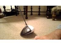 Taylormade M1 Driver with Tour Spec Stiff Speeder Fujikura Shaft. Excellent condition.